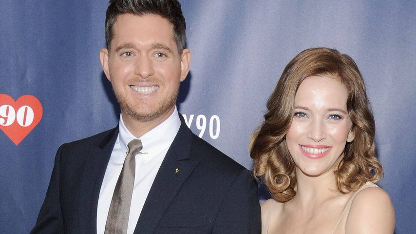 Michael Buble und Luisana Lopilato im September 2016