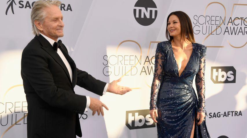 Michael Douglas und Catherine Zeta-Jones im Januar 2019