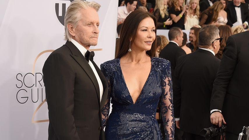 Michael Douglas & Catherine Zeta-Jones brachte Golf zusammen