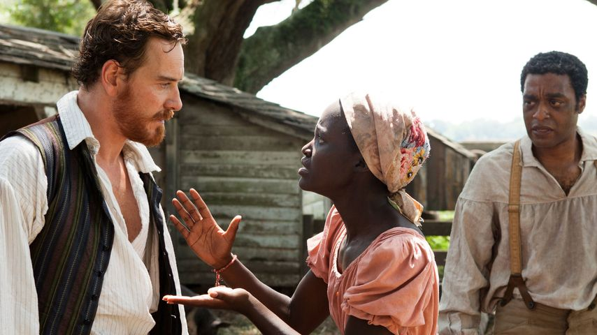 "Michael Fassbender, Lupita Nyong'o und Chiwetel Ejiofor in ""12 Years a Slave"""