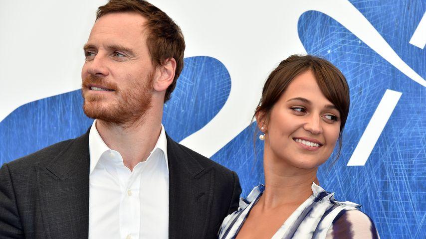 Michael Fassbender und Alicia Vikander beim Filmfest in Venedig