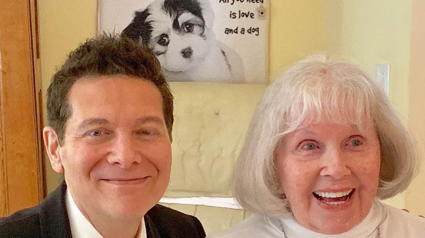 Michael Feinstein und Doris Day im April 2019