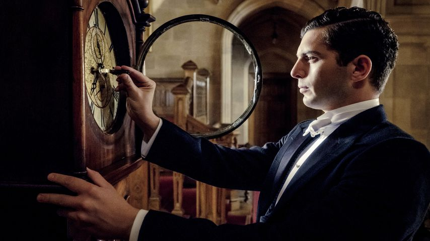 "Michael Fox als Andrew Parker in ""Downton Abbey"""