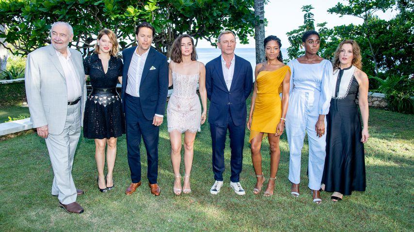 """Der """"James Bond""""-Cast auf Jamaika im April 2019"""