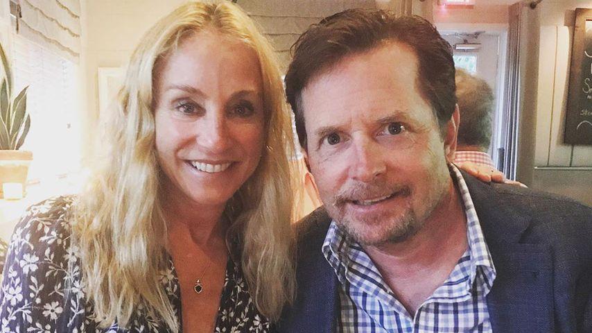 Michael J. Fox und Tracy Pollan