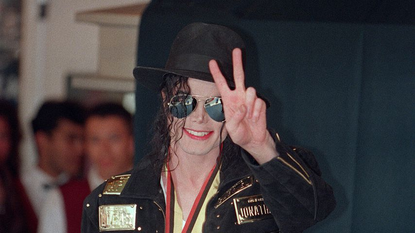 Michael Jackson im Mai 1993