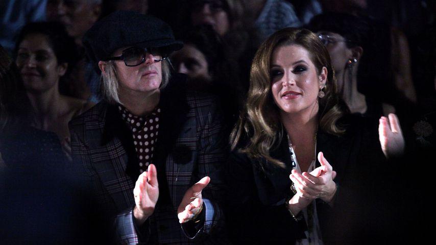 Michael Lockwood und Lisa Marie Presley in New York City