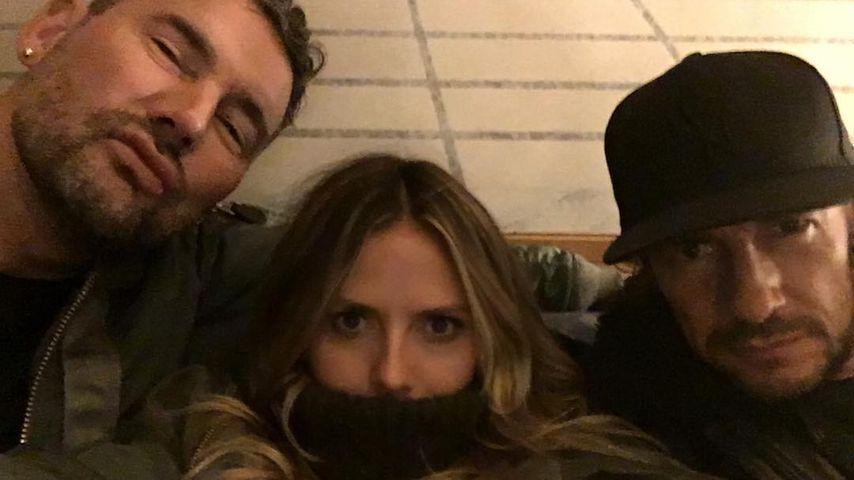 Michael Michalsky, Heidi Klum und Thomas Hayo