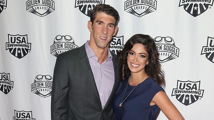 Im Babyglück: Michael Phelps' Verlobte zeigt ihren Babybauch