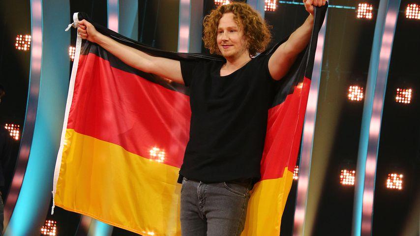 """Michael Schulte, Gewinner des """"Unser Song für Lissabon""""-Wettbewerbs"""