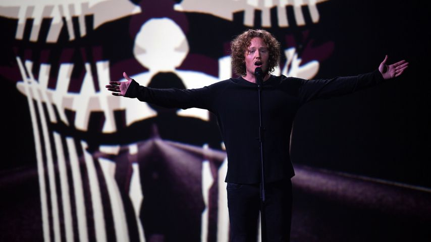 Michael Schulte beim Eurovision Song Contest 2018