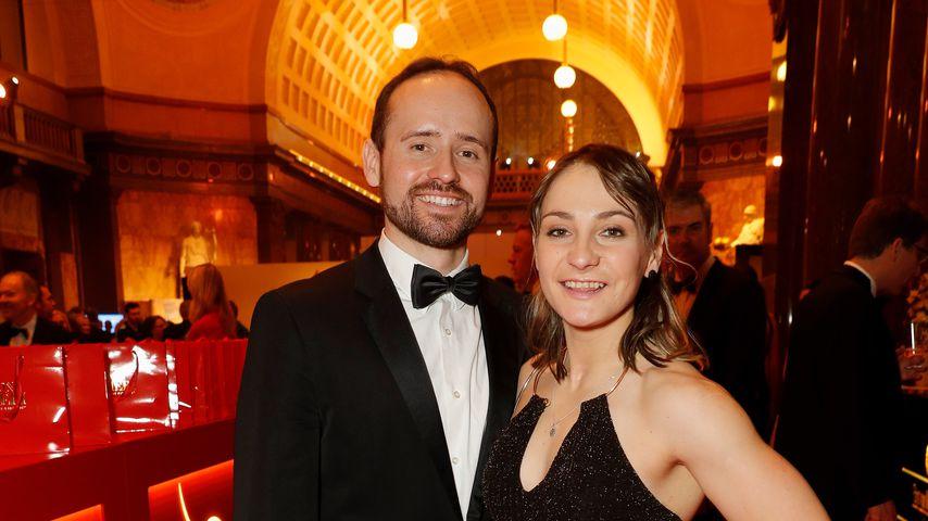Michael Seidenbecher und Kristina Vogel beim Ball des Sports 2017