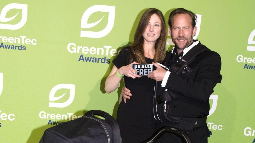 Michael Simon de Normier mit seiner Partnerin Simone und seiner Tochter Stella