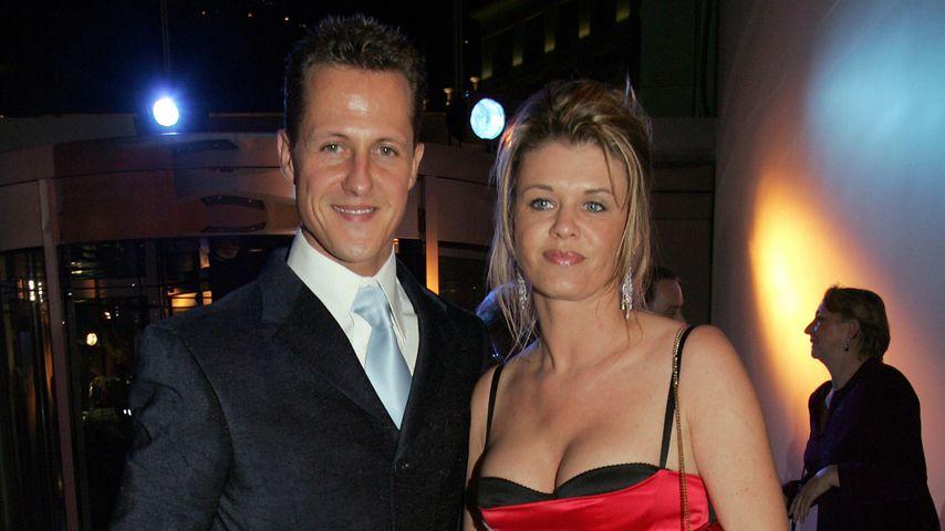 Michael und Corinna Schumacher  bei den FIA Awards in Monaco, 2005