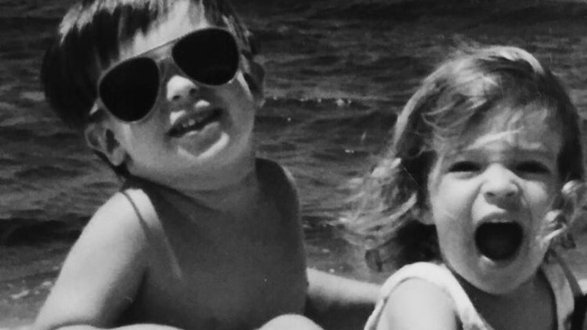 Michael und Kristin Cavallari als Kinder