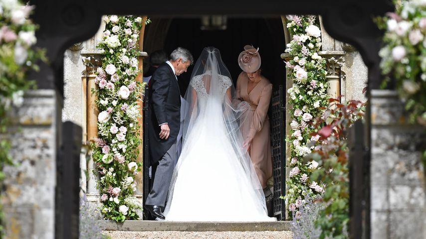 Michael und Pippa Middleton mit Herzogin Kate