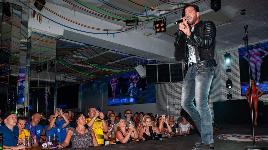 Michael Wendler bei einem Auftritt im Megapark in Palma