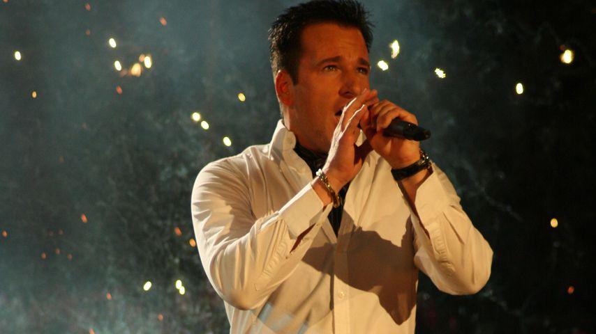 Michael Wendler bei einem Auftritt in Riesa