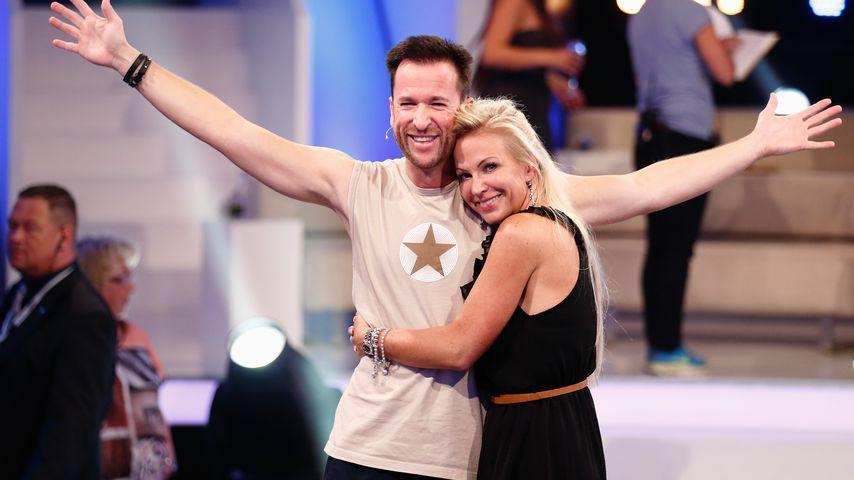 Michael Wendler und Claudia Norberg im August 2014