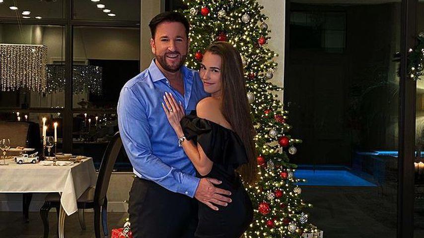 Michael Wendler und Laura Müller im Dezember 2020
