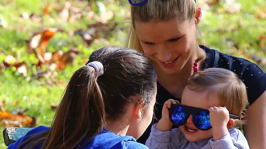 Michelle Hunziker: So süß spielen Sole und Aurora