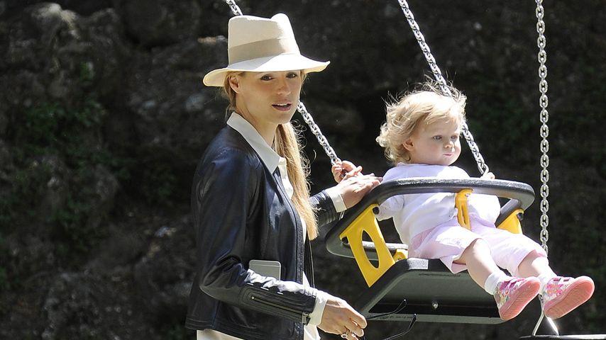 Michelle Hunziker: Ihre Kids wollen spielen statt shoppen
