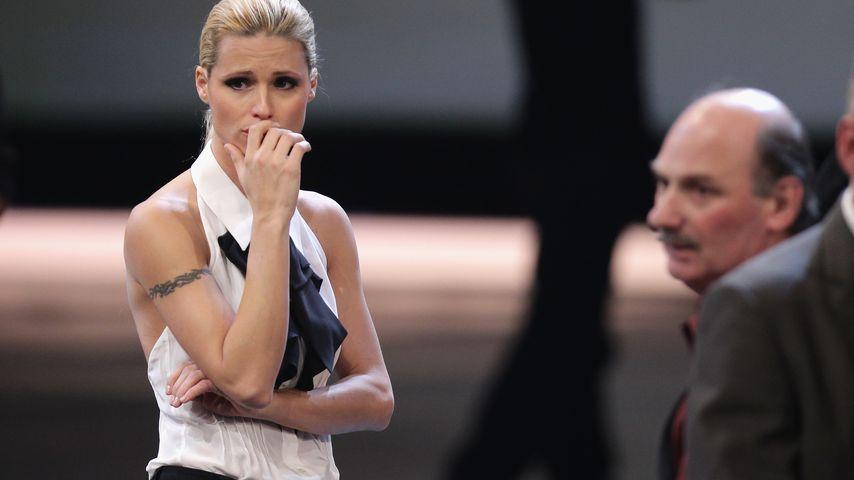 """Michelle Hunziker bei Samuel Kochs """"Wetten, dass..?""""-Sturz"""