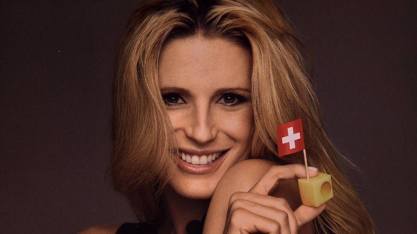 Cheese! Michelle Hunziker ist jetzt Frau Antje der Schweiz