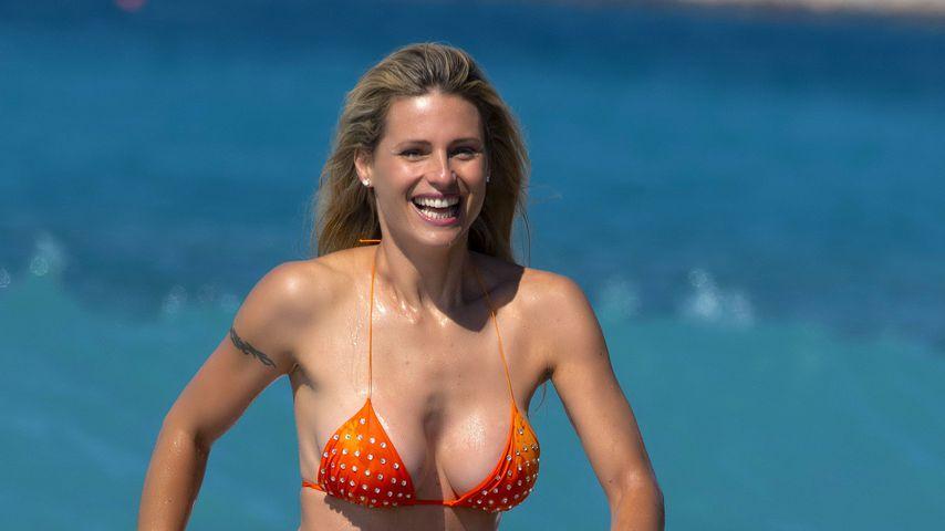 Michelle Hunziker im Juni 2020