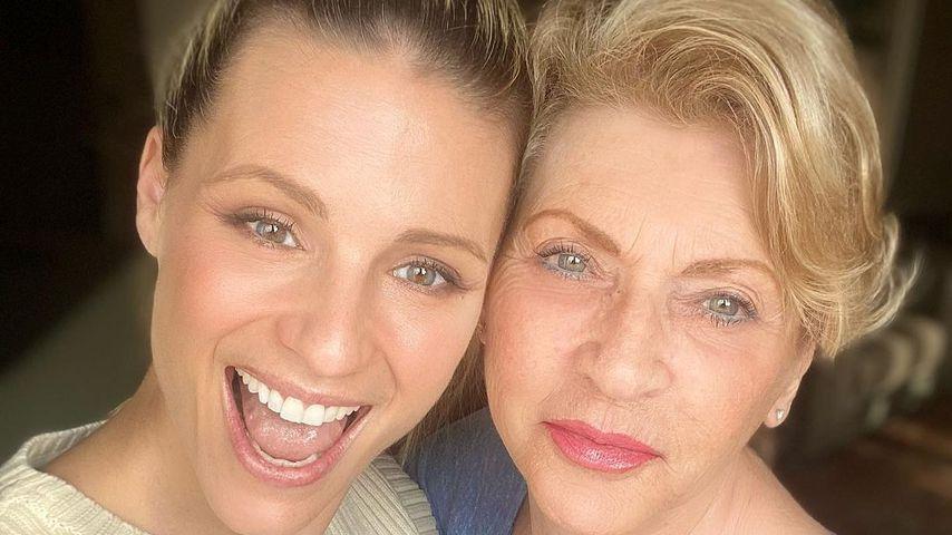 Michelle Hunziker und ihre Mutter Ineke
