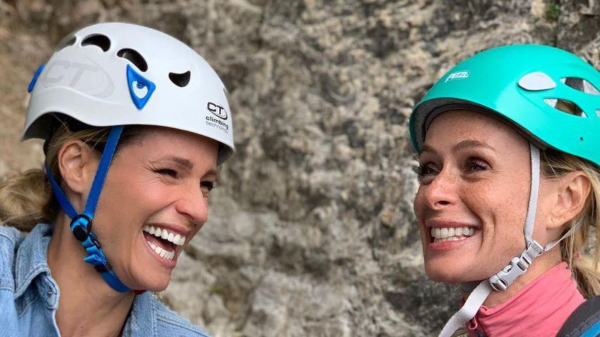 Michelle Hunziker und Serena Autieri im August 2021