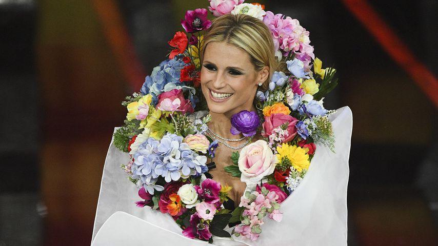 Michelle Hunziker in Sanremo
