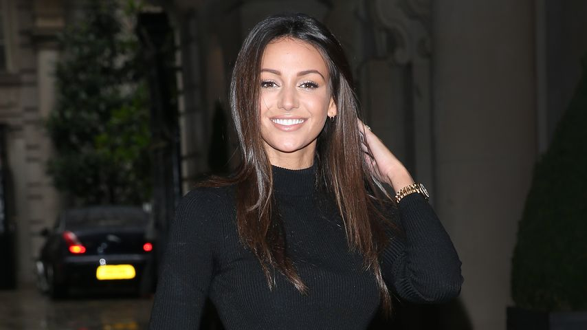 Michelle Keegan in London