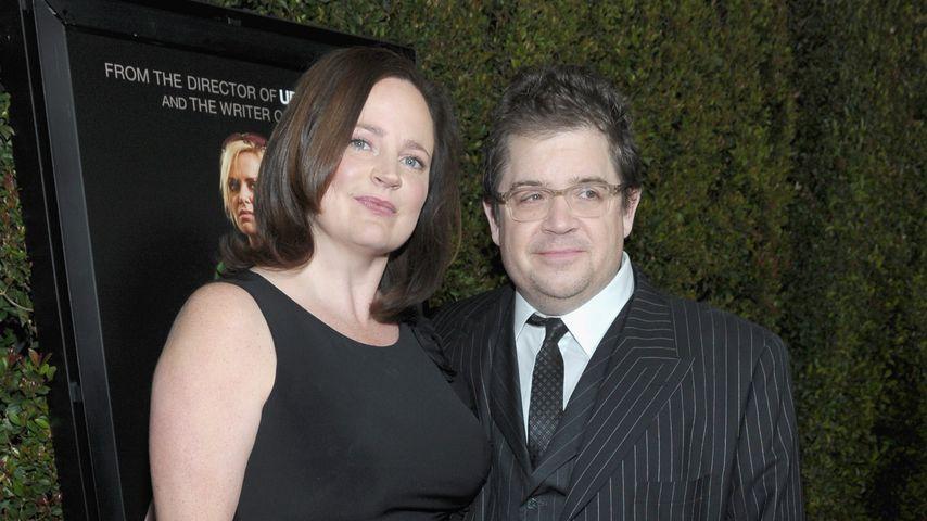Michelle McNamara mit Ehemann Patton 2011 in Beverly Hills