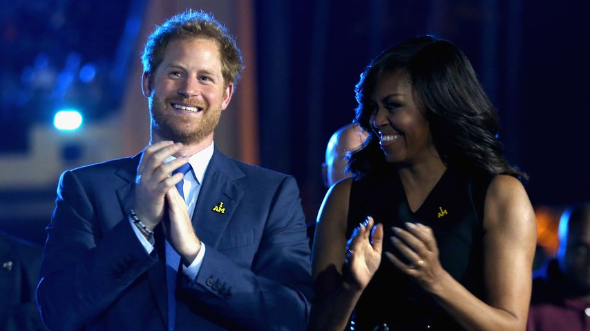 """Prinz Charming"": Michelle Obamas neuer Kosename für Harry"