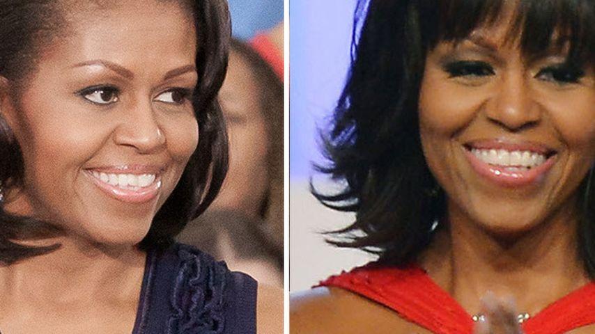 Neuer Look: Michelle Obama setzt auf peppigen Pony