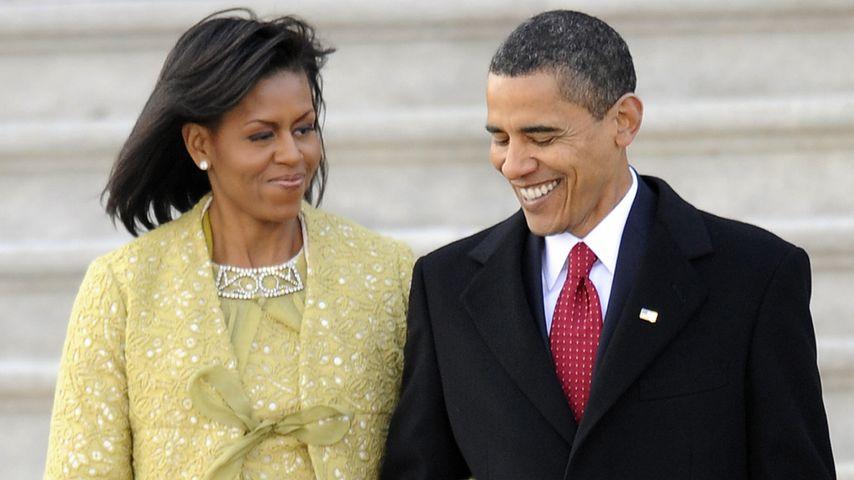 Michelle und Barack Obama im Januar 2009
