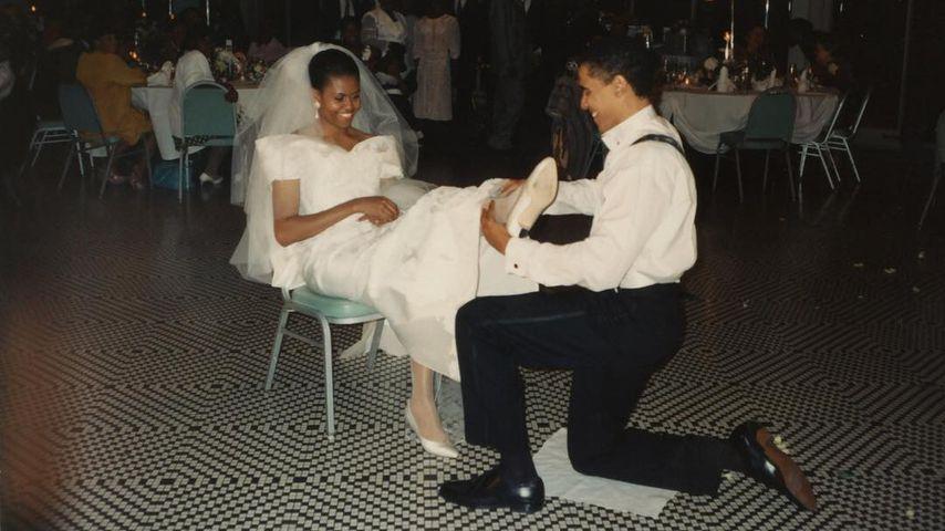 Zuckersüß: Michelle Obama erinnert sich an Hochzeitstag