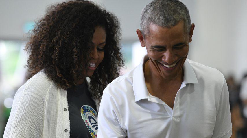 Michelle und Barack Obama im Dezember 2019