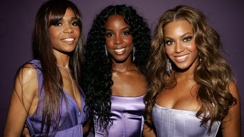 Michelle Williams, Kelly Rowland und Beyoncé Knowles von Destiny's Child bei den BET Awards, 2005