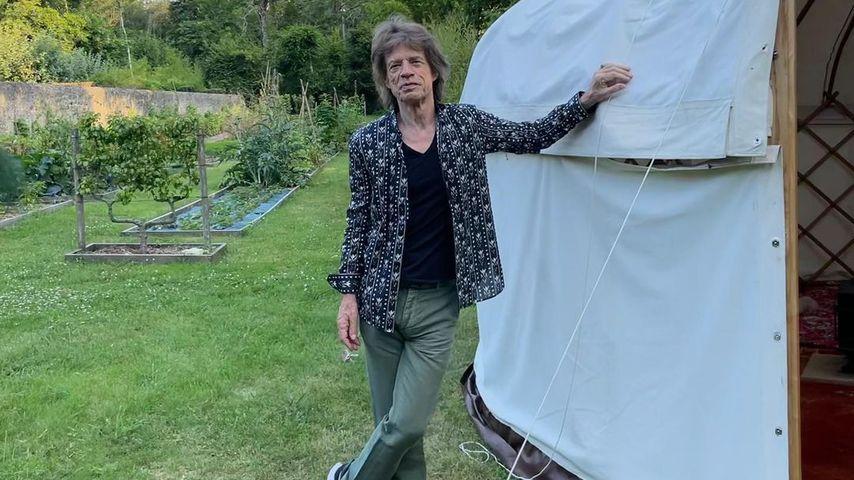 Bei Glamping-Trip: Mick Jagger feiert seinen 78. Geburtstag