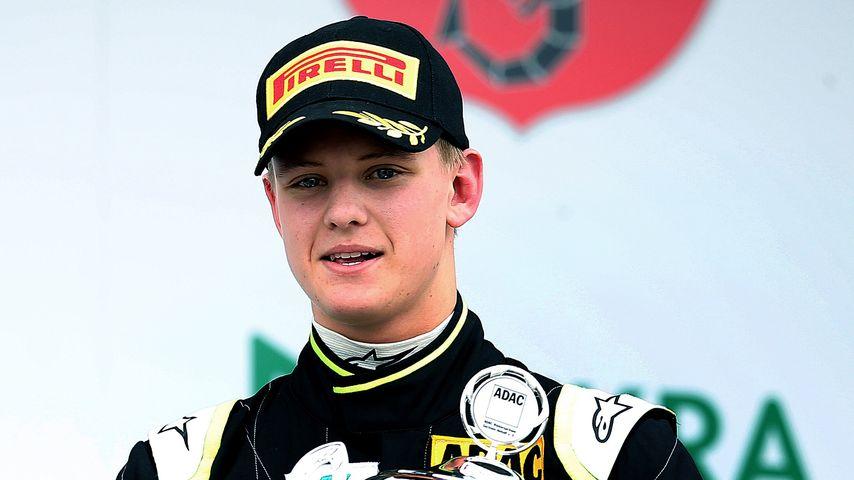 Mick Schumacher nach einem Formel-3-Rennen im April 2015 in Oschersleben