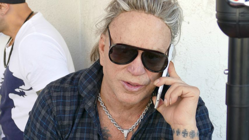Mickey Rourke in Los Angeles, November 2018