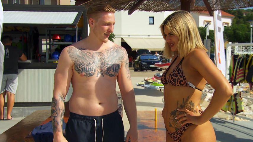Mike Brown und Gina Alicia bei einem Date