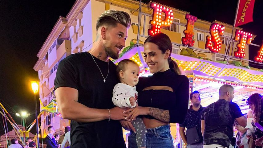 Mike Heiter, Elena Miras und Tochter Aylen