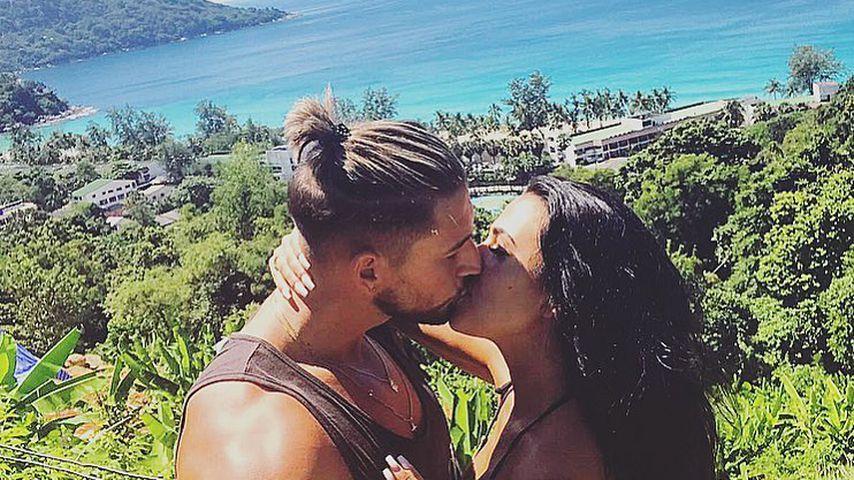 """Im Liebesurlaub: """"Love Island""""-Mike & Elena überglücklich!"""