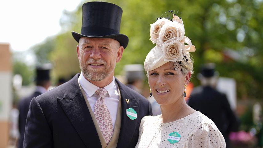 Mike und Zara Tindall beim Royal Ascot im Juni 2021