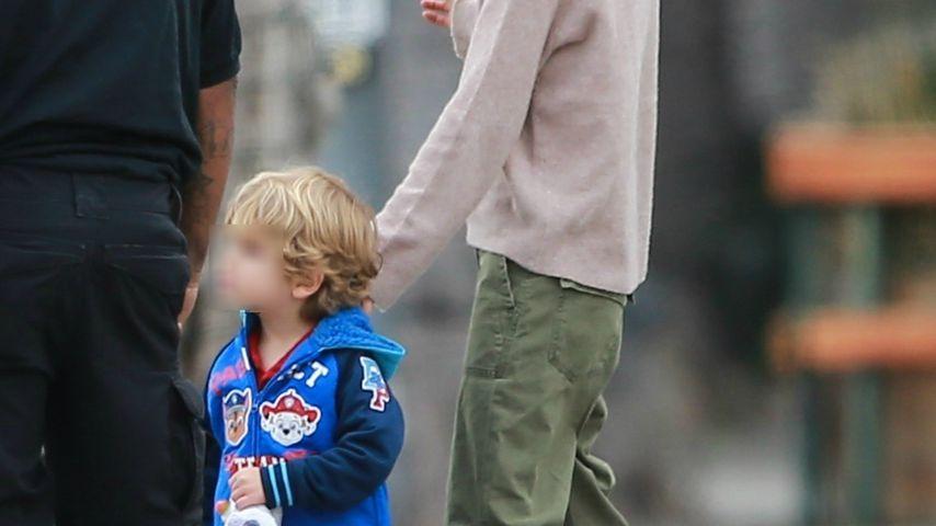 Mila Kunis und ihr Sohn Dimitri in Beverly Hills