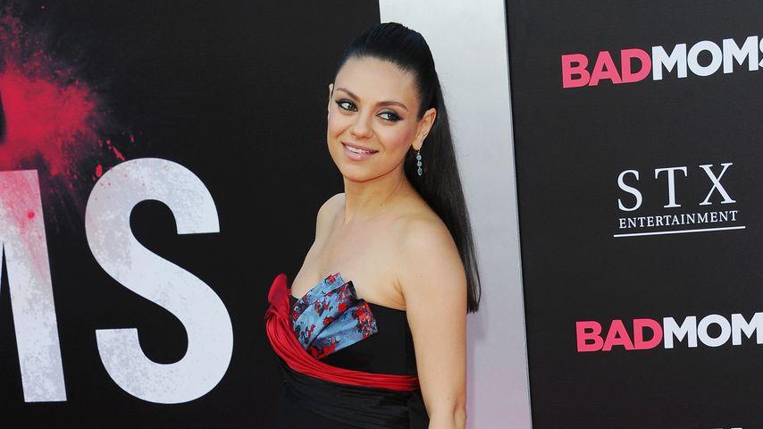 Schwangere Schönheit: Mila Kunis wirkt glücklicher denn je!