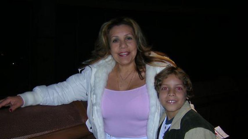 Mildred Baena und ihr Sohn Joseph, Mai 2011